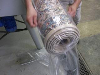emballage du tapis - Lavage Tapis